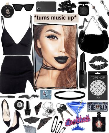 black lipstick 🖤💄