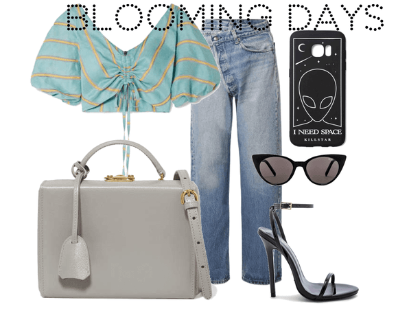 spring day outfit inspired by blooming days
