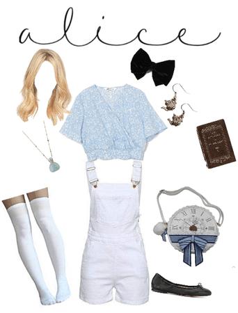 Alice Disneybound