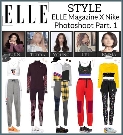 STYLE ELLE Magazine X Nike Photoshoot Part. 1