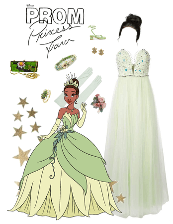 Princess Tiana Goes to Prom 2019