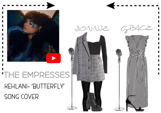 [THE EMPRESSES] KEHLANI- 'BUTTERFLY' COVER