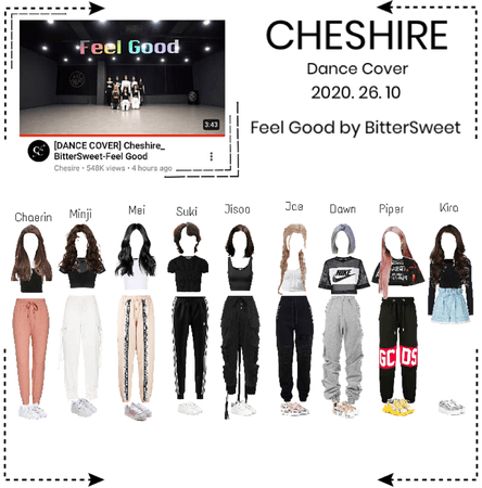 Cheshire [체셔]- Feel Good by Bittersweet dance cover (2020. 26. 10)