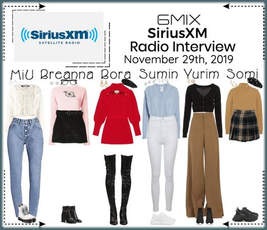 《6mix》SiriusXM Radio Interview