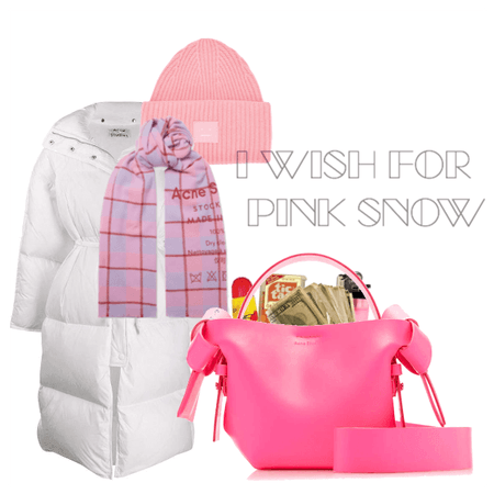 I WISH FOR PINK SNOW