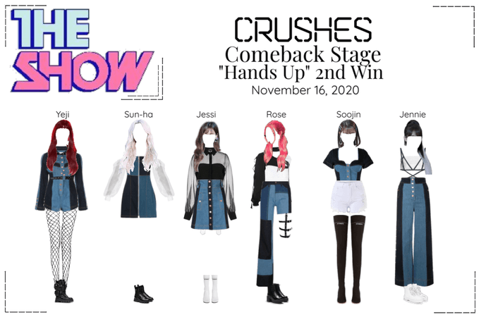 "Crushes (호감) ""Hands Up"" Comeback Stage 2nd Win"