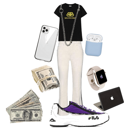 rich outfit
