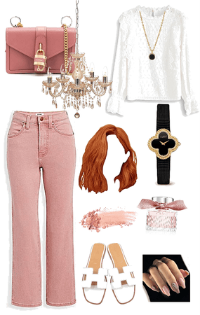 copper pink and lace 💕