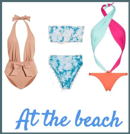 At the beach 🏖