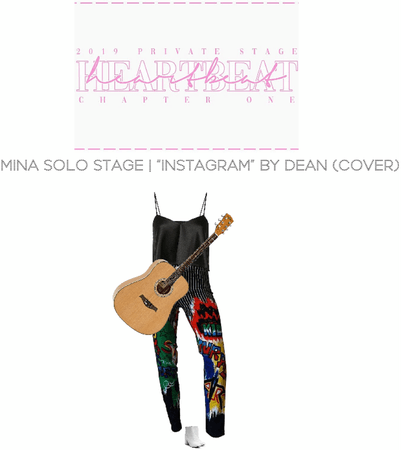 [HEARTBEAT] 2019 PRIVATE STAGE | MINA SOLO STAGE