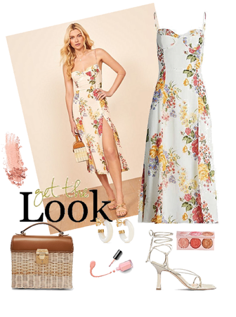 Get the Look - Pretty in Florals