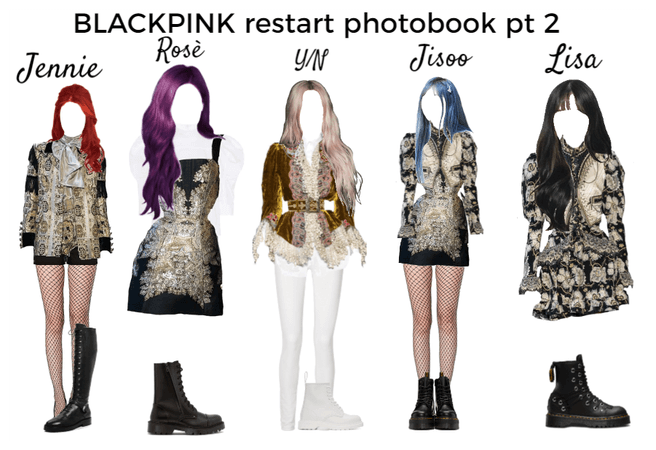 BLACKPINK restart photobook pt 2