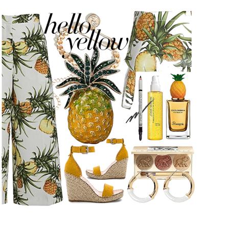 Summer & My Pineapple