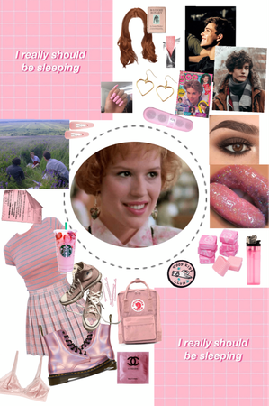 Andie inspired (pretty in pink)