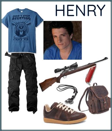 Maze Runner OC: Henry