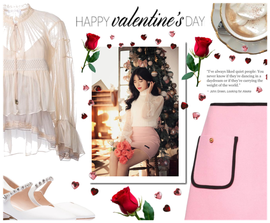 ♡ Valentines Day Date Night Look #1 ♡