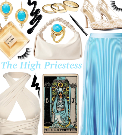 SUMMER 2021: Tarot Cards (The High Priestess)