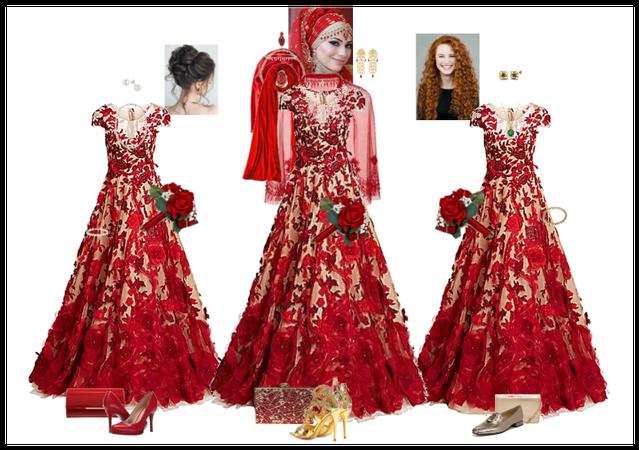Athena's bridesmaids