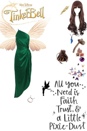If I was A fairy in Tinkerbell (AKA- Pixie Hallow)