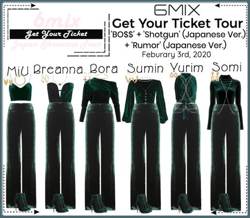 《6mix》Get Your Ticket Tour   Fukuoka, Japan
