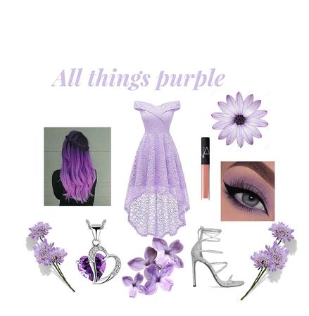 Purple Prom Princess