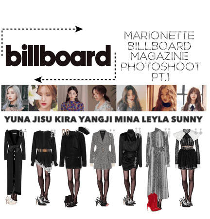 {MARIONETTE} Billboard Magazine PT.1