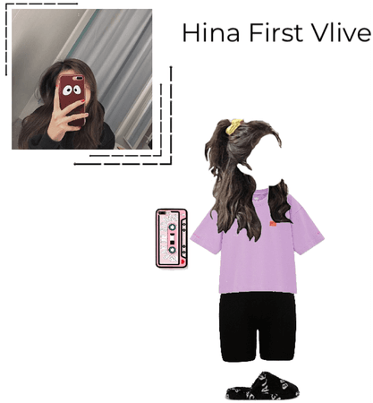 Hina's first Vlive