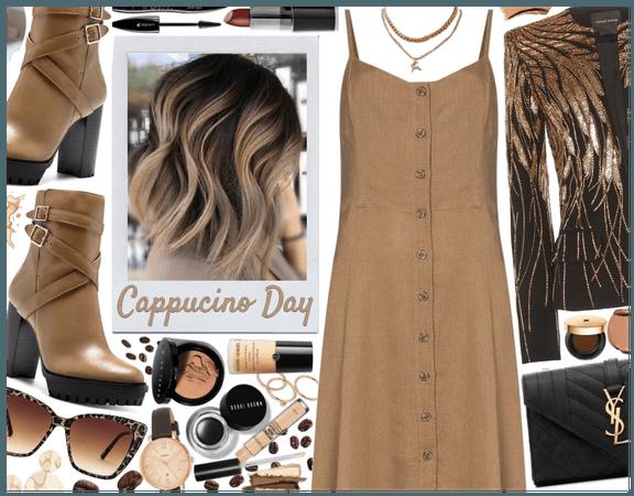 Cappucino Day: Classy Chic