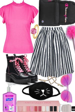 Back to school: Pink!