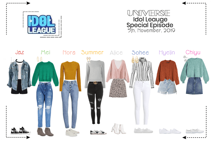 UNIVERSE Idol Leauge Special Episode