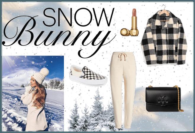 snow bunny but comfy