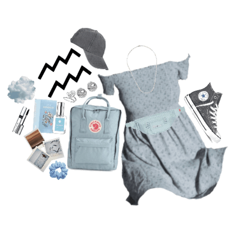 aquarius: grey&blue