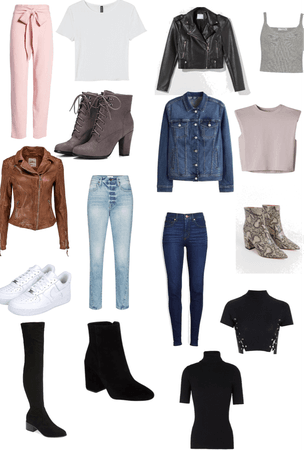 Spring clothing aesthetic