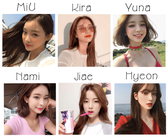 《GIRL CRUSH》Meet The Members