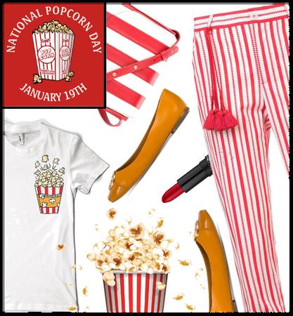 Nat. Popcorn Day January 19th