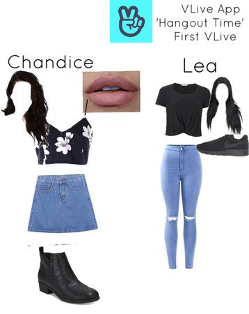 Chandice and Lea's VLive 'Hangout Time'