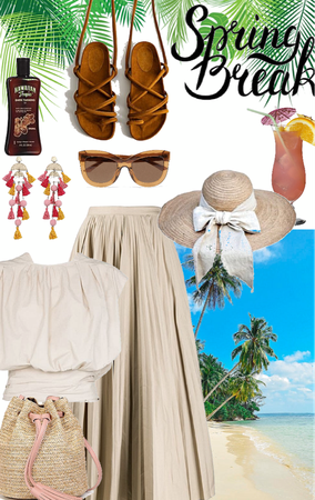 Outfit for sister n. 32: tropical sand