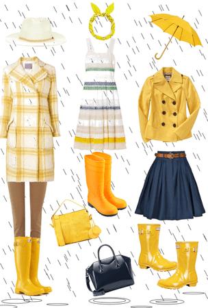Rainy Day Sunshine Color