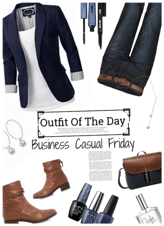 Business Casual Friday/OOTD
