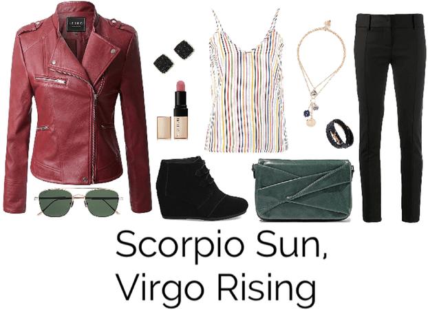 Scorpio Sun, Virgo Rising