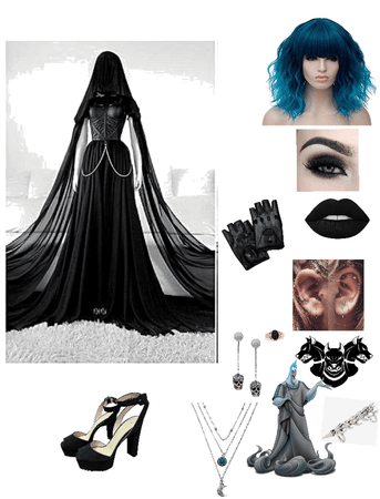 Hades Daughter coronation outfit