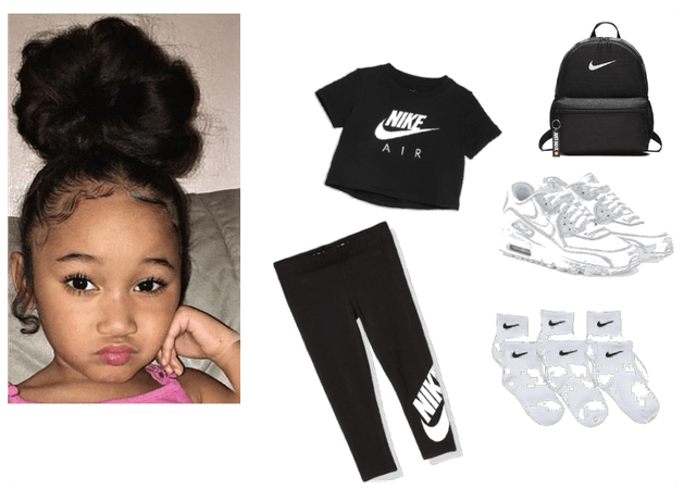 Lil Girly Nike fit