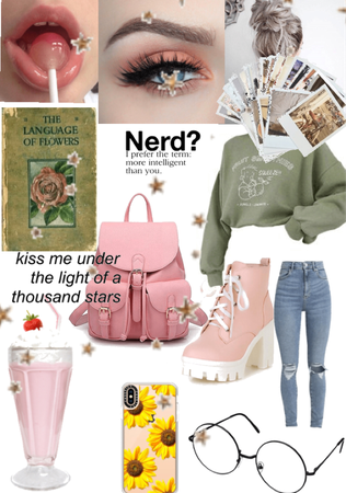 the nerdy girl