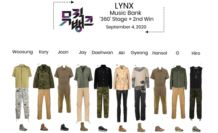 Lynx// '360' Music Bank Stage + 2nd Win