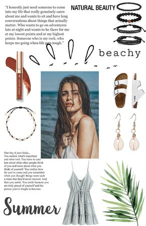 ~that beach look~