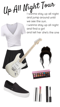 Ireland Brooks Up All Night Tour outfit