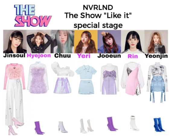"NVRLND The Show ""Like it"" special stage"