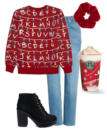 12 Outfits of Christmas: Stranger Things