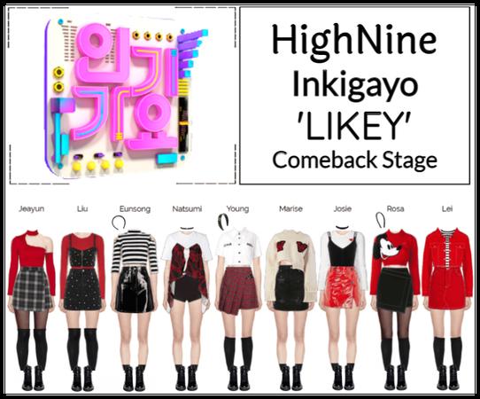 HighNine (하이 나인) Inkigayo Comeback Stage