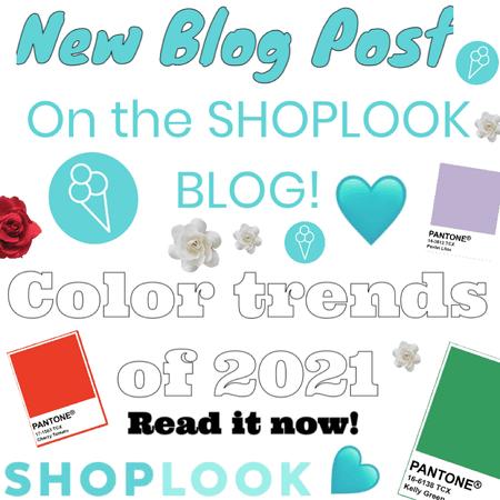 mew blog post on the SHOPLOOK BLOG